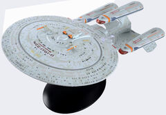 Eaglemoss XL Future USS Enterprise-D