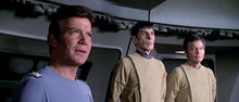 Kirk, Spock, and McCoy, 2270s