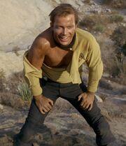 Kirk after fighting Finnegan