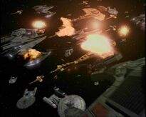 Klingon fleet Operation Return