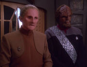 Odo and Worf, 2375