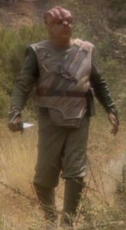 Tamarian uniform