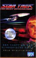 VHS-Cover TNG Der Kampf um das Klingonische Reich