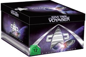 Voyager Complete German 2015 DVD cover