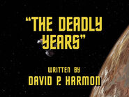 2x11 The Deadly Years title card