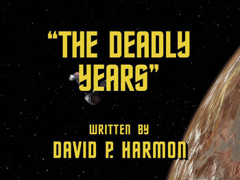 The Deadly Years title card