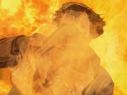Buch des Kosst Amojan brennt