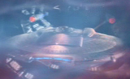 Enterprise NX-01, time stream
