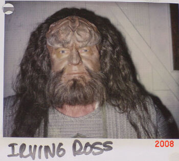 "Ross on a continuity Polaroid for ""Birthright, Part II"""