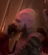 Pink skinned alien with beard 1