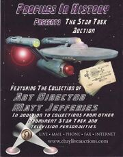 Profiles in History Hollywood Star Trek Auction Cover