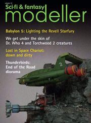 Sci-Fi & Fantasy modeller cover volume 12
