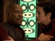Sisko berichtet von Vision