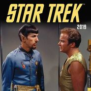 Star Trek Calendar 2019 cover
