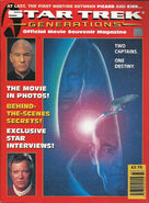 Star Trek Generations Official Movie Magazine Titan Press cover