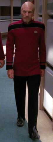 Starfleet flag officer uniform, 2383