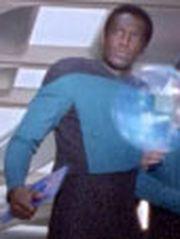 Sternenflottenoffizier Wissenschaft USS Enterprise-D 2364 Sternzeit 41255