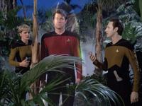 The Arsenal of Freedom - Riker w polu siłowym