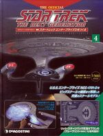 The Official Star Trek The Next Generation Build the Enterprise-D issue 4 box