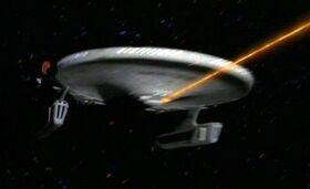 USS Saratoga 2367 fore