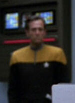 USS Voyager engineer 24, sickbay