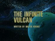 1x07 The Infinite Vulcan title card