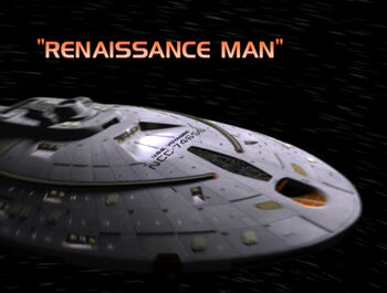 Renaissance Man title card