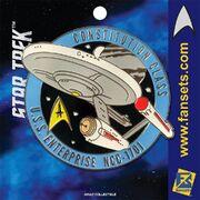 Fansets USS Enterprise pin