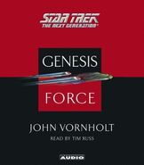 Genesis Force audiobook cover, CD edition
