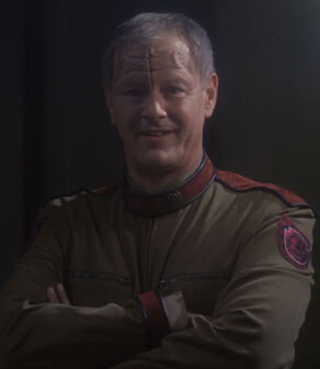 General Gosis, a male of his species