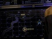 Lage der Badlands der DMZ und von Deep Space 9