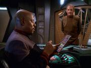 Odo und Sisko singen