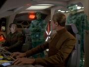 Romulaner beamen auf Runabout