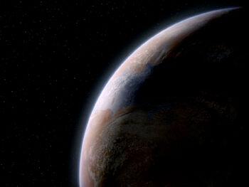 Rutia IV from orbit