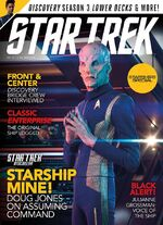 Star Trek Magazine issue 204 cover