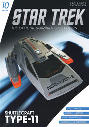 Star Trek Official Starships Collection Shuttle Issue 10