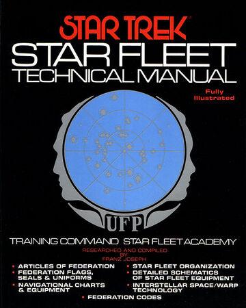 Used star trek star fleet technical manual 1st edition for sale in.