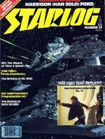 Starlog issue 037 cover