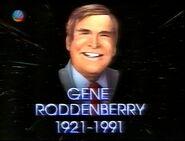 25 Jahre Star Trek - Widmung Gene Roddenberry 2