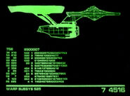 Constitution class refit profile, lcars, tngs1