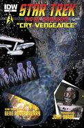 Cry Vengeance comic