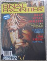 Final Frontier issue 24 cover