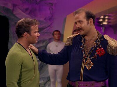 Kirk und Harry Mudd
