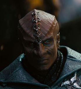 ...as Klingon patrol officer