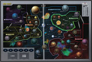 Star Trek 50th Anniversary Risk game board