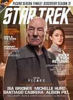 Star Trek Magazine issue 202 cover