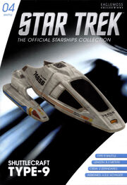 Star Trek Official Starships Collection Shuttle Issue 04