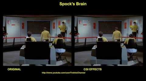 """TOS """"Spock's Brain"""" - """"Le cerveau de Spock"""" - comparaison des effets spéciaux"""
