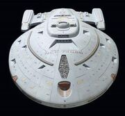 USS Voyager studio model at auction