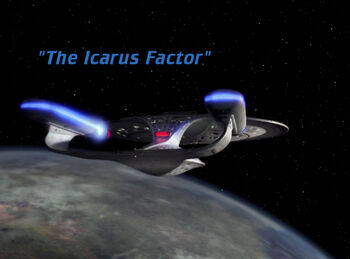 The Icarus Factor title card